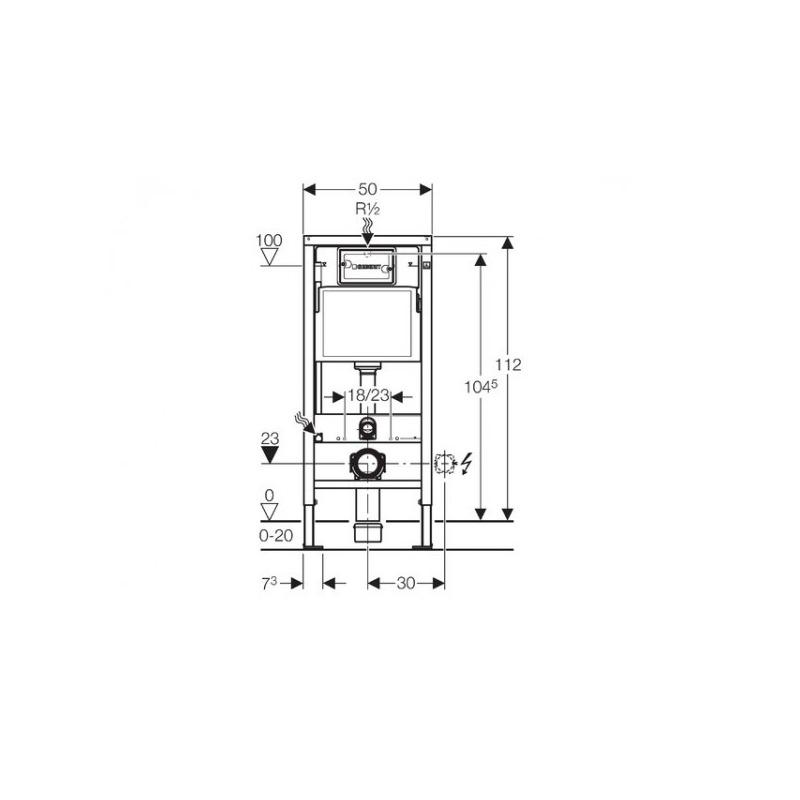 geberit pack wc geberit duofix up100 cuvette ideal standard tesi aquablade plaque de. Black Bedroom Furniture Sets. Home Design Ideas