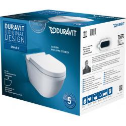 WC suspendu Starck 3 (42250900A1)