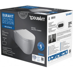 WC suspendu Duravit Rimless ME by Starck (45290900A1)