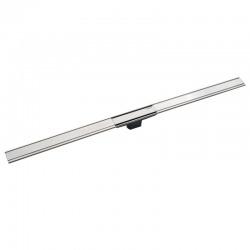 Canal de douche en acier inoxydable, 130 cm, métal poli (154.457.KS.1)