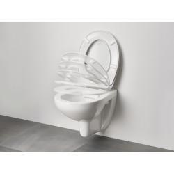 Bau Céramique Siège abattant WC, blanc (39493000)