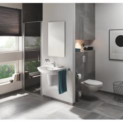 Pack BAU CERAMIC Cuvette WC sans bride + abattant SoftClose + bâti-support + Plaque de Commande Nova Cosmopolitan