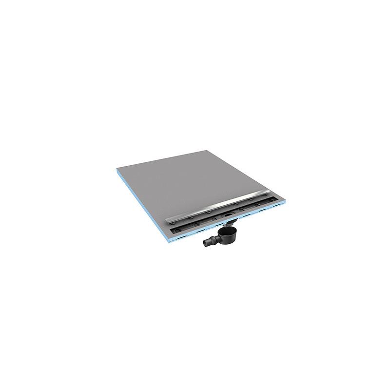 Receveur rectangulaire 120x90 coulement lin aire wedi for Receveur a carreler 120x90