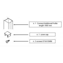 Profilé de compensation 25 mm Connect (T001295EO)