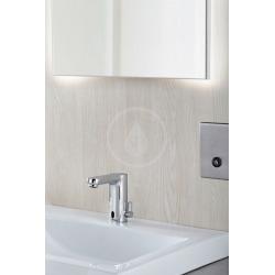 Eurosmart Cosmopolitan E Mitigeur lavabo infrarouge avec mitigeur et limiteur de température ajustable, chromé (36324001)