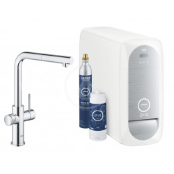 Blue Home Kit de démarrage Mitigeur bec L Chrome (31539000)