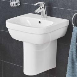 Grohe Euro Ceramic Cache-siphon pour lave-mains et lavabo de 50 cm, blanc alpin (39325000)