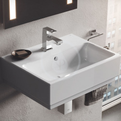 Grohe Cube Ceramic Lave-mains, 455x350 mm, PureGuard, alpine blanc (3948300H)