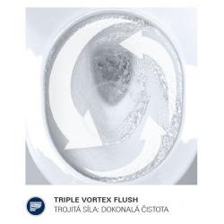 Euro Ceramic Cuvette WC suspendue, blanc alpin (39328000)