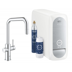 Blue Home Kit de démarrage Mitigeur bec U Chrome (31543000)