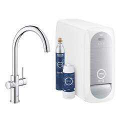 Blue Home Kit de démarrage Mitigeur bec C Chrome (31455001)