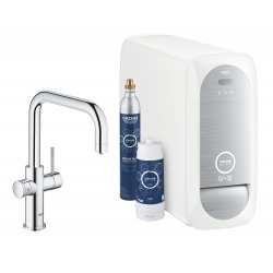 Blue Home Kit de démarrage Mitigeur bec U Chrome (31456001)