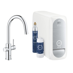 Blue Home Kit de démarrage Mitigeur bec C Chrome (31541000)