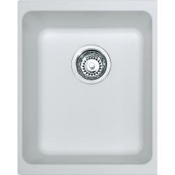 Franke Kubus - KBG 110-34 Fragranit + Artic blanc Evier (125.0176.651)