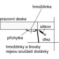 Franke Sirius - SID 160 Tectonite® Carbone Evier (125.0363.804)