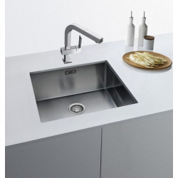 BOX - Stainless steel sink BXX 210 / 110-54, 580 x 450 mm, siphon (127.0395.015)