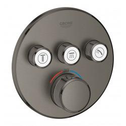 Grohtherm SmartControl Thermostatique pour installation encastrée 3 sorties (29121AL0)
