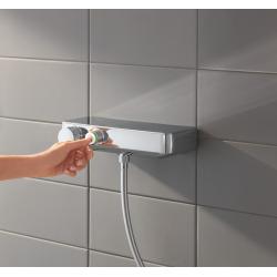 Grohe Grohtherm SmartControl Mitigeur thermostatique douche 1/2″ avec ensemble de douche (34721000)