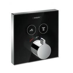 ShowerSelect Set de finition pour mitigeur thermostatique avec 2 fonctions (15738600)