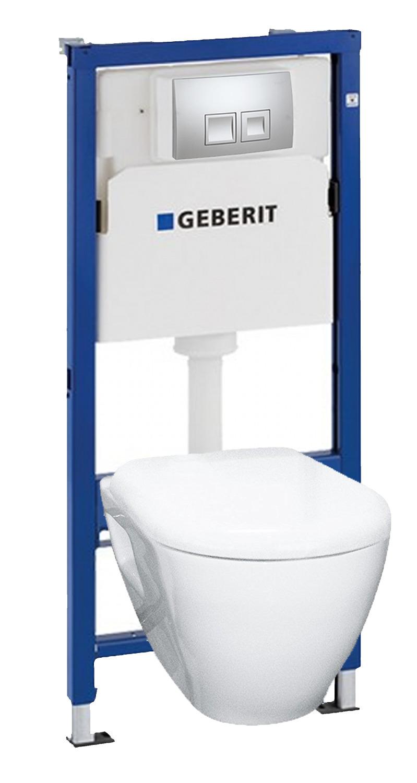 Largeur Wc Suspendu Geberit geberit solid geberit up100 pack bati wc (39186geb2)