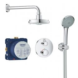 Set de douche Rainshower Cosmopolitan 160 avec thermostat encastré, chrome (34735000)