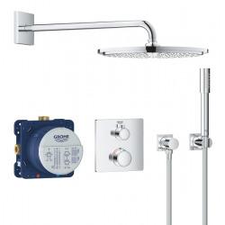 Set de douche Rainshower Cosmopolitan 310 avec thermostat encastré, chrome (34730000)