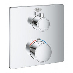 Grohe Mitigeur thermostatique de douche, chromé (24078000)