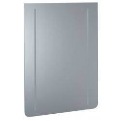 Renova Comfort Miroir avec éclairage, 1000 x 650 mm