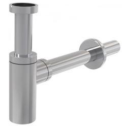 Siphon de lavabo universel design 100% métal chromé (SP SDCRK0)