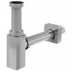 Siphon de lavabo 100% métal chromé (SP SDCRH1)