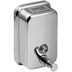 Nerezový dávkovač tekutého mýdla, obsah 1,25 l