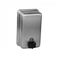Nerezový dávkovač tekutého mýdla, obsah 1,2 l, matný povrch