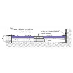 Jackon Receveur de douche à carreler Aqua Centré 1800x900x40mm siphon horizontal offert (4512098 + 4512007)