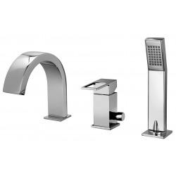 Elle - Mitigeur de bain installation 3 trous (EF040CR