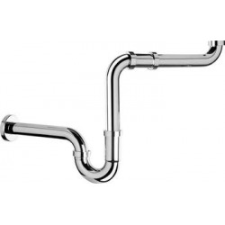 "Siphon de lavabo SAPHO 1 ""1 / 4-32mm chrome (126.013.5H)"