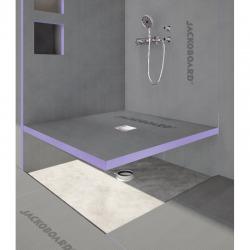 Receveur de douche à carreler Aqua Centré 900x900x40mm