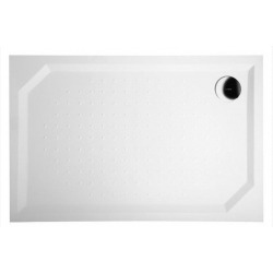 Sapho SARA Receveur de douche en marbre, rectangle 120x90x4cm