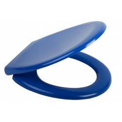 DARK BLUE Abattant WC en Duroplast de haute qualité avec abaissement automatique et détachable