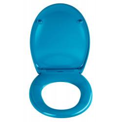 LIGHT BLUE Abattant WC en Duroplast de haute qualité avec abaissement automatique et détachable