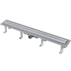 Drain de douche simple pour grilles perforées 75 x 14,5 x 8 cm CPZ9-750M