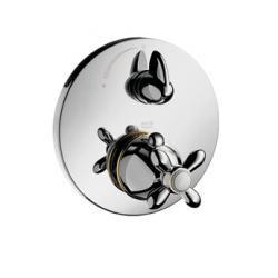 Carlton - Set de finition pour mitigeur thermostatique encastré avec robinet d'arrêt (17705000)