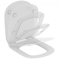 Ideal standard Tesi Abattant ultra-fin frein de chute (T352701) - DESTOCKAGE