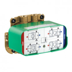 Corps d'encastrement pour module thermostatique