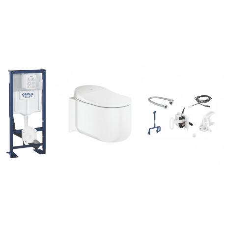 Grohe Rapid Sl Sensia Arena Wc Lavant Suspendu Sensia Arena Kit Dinstallation Pour Chasse Automatique Sensia Set
