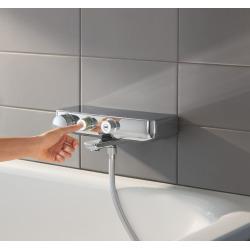 Grohe Grohtherm SmartControl Mitigeur thermostatique Bain / Douche 1/2, chromé (34718000)