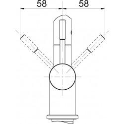 Franke robinet FG 0562.031, chromé