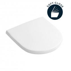 Abattant amovible avec frein de chute O.Novo pour cuvette WC et WC suspendu (9M38S101)