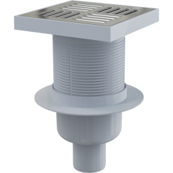 Alca Plast Siphon de sol sortie verticale 150 x 150/50 MM (APV6411)