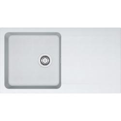 Franke Orion - OID 611 évier de cuisine à encastrer Tectonite® Blanc Artic