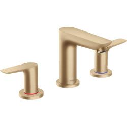 Talis E Mélangeur de lavabo 3 trous 150, bronze brossé, avec tirette et vidage (71733140)
